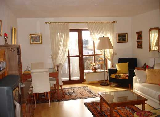 Komfortable voll möblierte Wohnung mit  Balkon im Ortszentrum von Aying im Münchener Südosten, S7.
