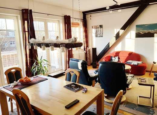 außergewöhnliche 4-Zimmer-Wohnung mit großem süd-west Balkon
