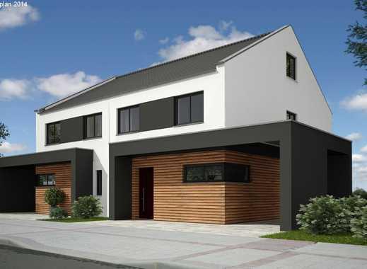 Schicke Doppelhaushälfte mit möglicher Ausbaureserve im DG!