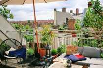 Traumwohnung mit Dachterrasse zur Zwischenmiete