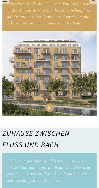 Erstbezug: attraktive 2-Zimmer-Wohnung mit Einbauküche und Balkon in Au, München in Au (München)