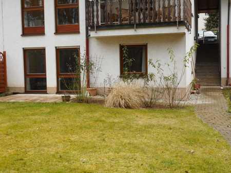 2-Zimmer-Souterrain-Wohnung mit Einbauküche und Terrasse in Uttenreuth