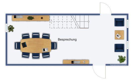 Grundriss Untergeschoss Bespre