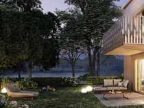Moderne Gartenwohnung mit 2 Zimmern
