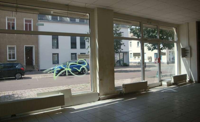 Schaufenster im großen Laden