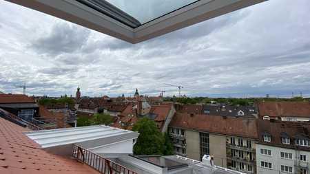 Rarität im Lehel - ganz oben - Traumblick über die Dächer in Lehel (München)