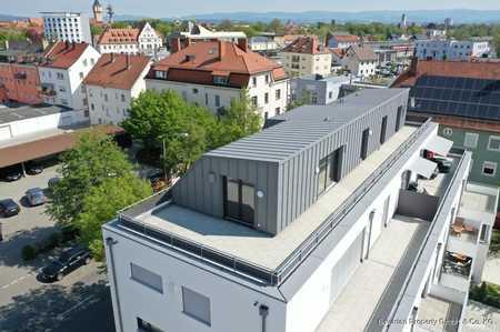 Neubau! Penthousewohnung nähe Gäubodenpark in Kernstadt (Straubing)