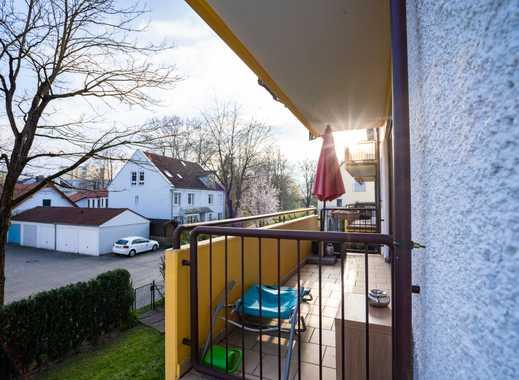 WG-geeignet - Ihr Traum von viel Raum! - Sonnige 4 Zimmerwohnung mit 2 Balkonen - Haustiere erlaubt