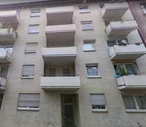 Gepflegte 2-Raum-Hochparterre-Wohnung mit EBK in