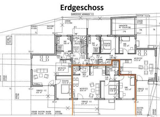 2/8 Neubau/Erstbezug mit Terrasse: 3-Zimmer-EG-Wohnung in Unterhachings Bestlage
