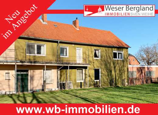 Wohn- und Gewerbeimmobilie in zentraler Lage von Hille