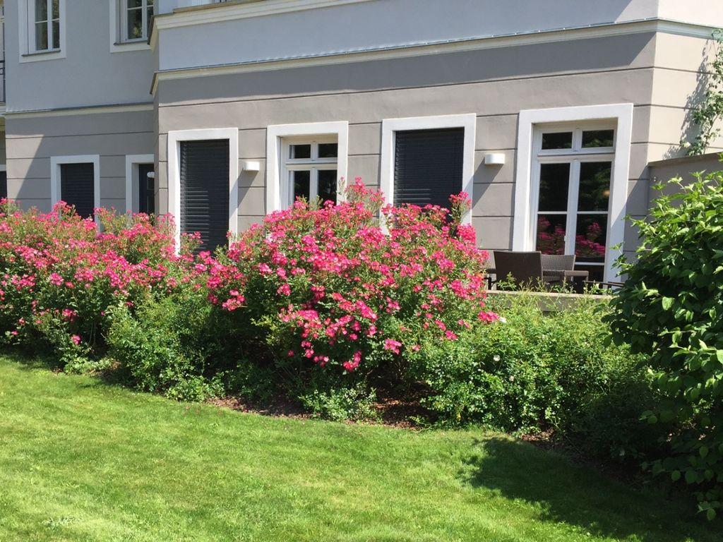 Fassadenansicht vom Garten
