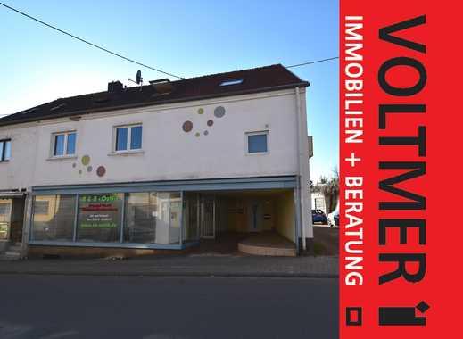 LANGFRISTIG VORSORGEN - Wohn- u. Geschäftshaus mit guter Rendite in Schiffweiler