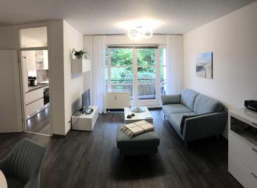 Kompl. möblierte, hochwertige 2-Zimmer-Wohnung m. Balkon u. Küche in Köln/ Junkersd.,incl TG Stellpl