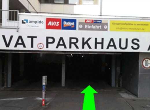 +++ Stellplatz in Parkhaus +++ Toplage +++