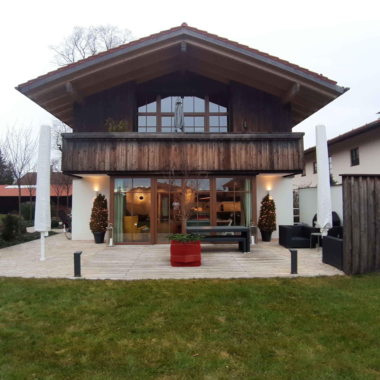Exklusive 3-Zimmer-Wohnung mit großen Garten und Einbauküche im Sticklhof in Valley