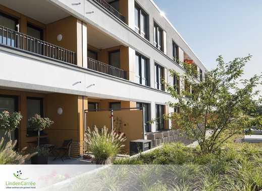 Individuelle und großzügige 2-Zimmer-Wohnung mit EBK, Terrasse und TG-Stellplatz
