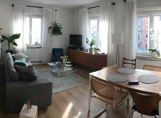 Helle 3-Zimmer-Wohnung mit Balkon und Einbauküche im Lehenviertel