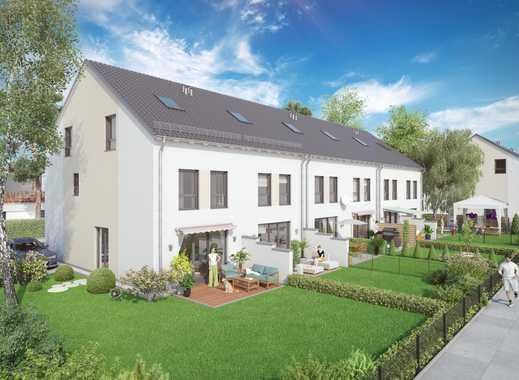 Modernes Wohnen für die junge Familie!  Reihenmittelhaus auf sonnigen Grundstück