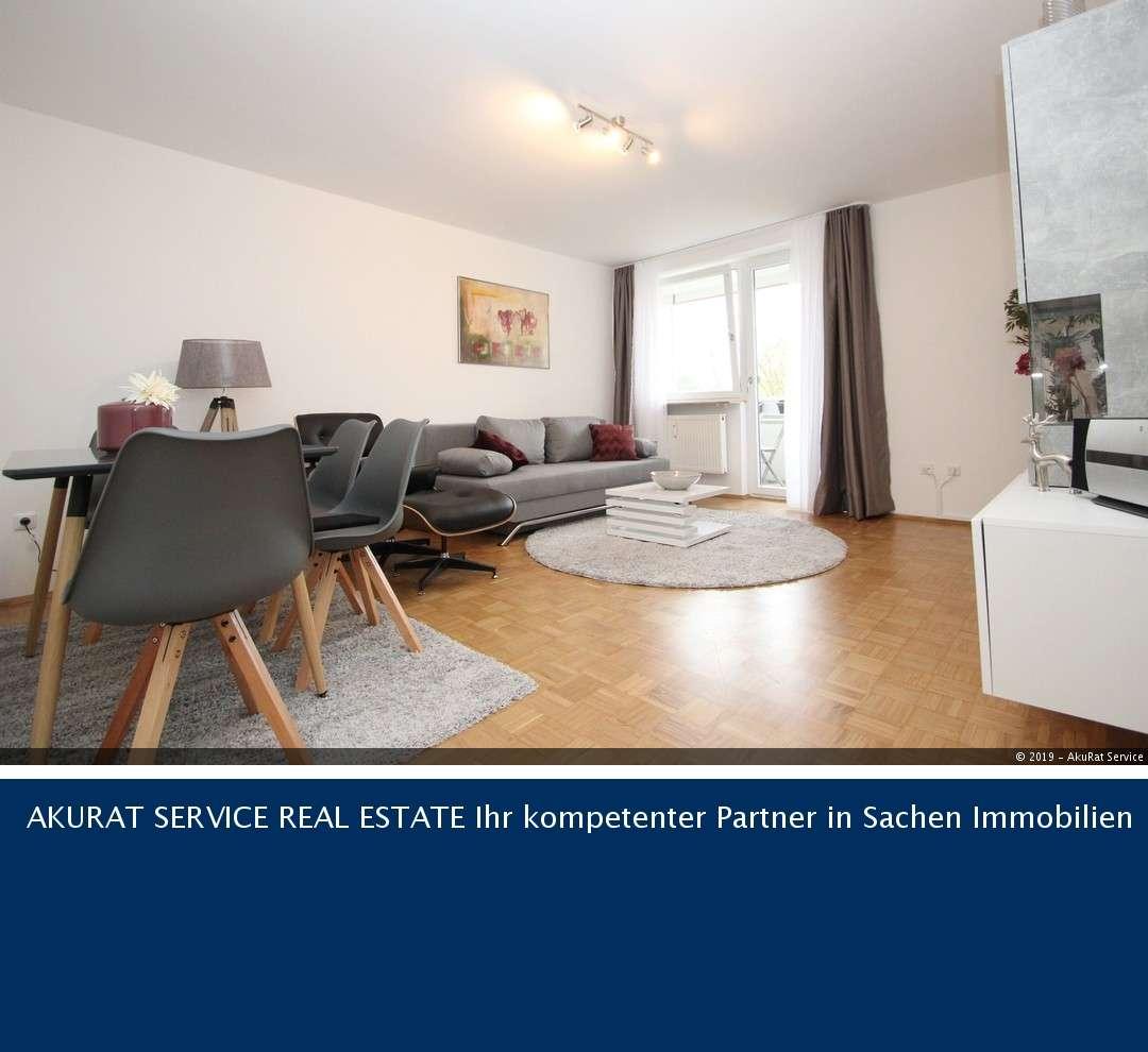 vollmöblierte 2-Zimmer-Wohnung mit Südloggia im begehrten Solln in Solln (München)
