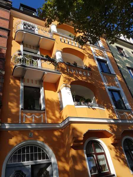 Schöne, geräumige zwei Zimmer Wohnung in Hof, Innenstadt in Hof-Innenstadt