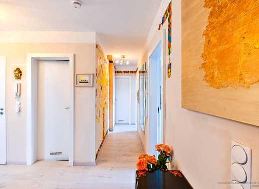 Modernisierte 4-Zimmer Wohnung über den Dächern der Stadt