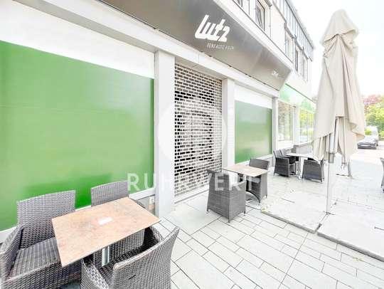 Außenaufnahme von Ladenlokal in A-Lage | Direkt an der Fußgängerzone