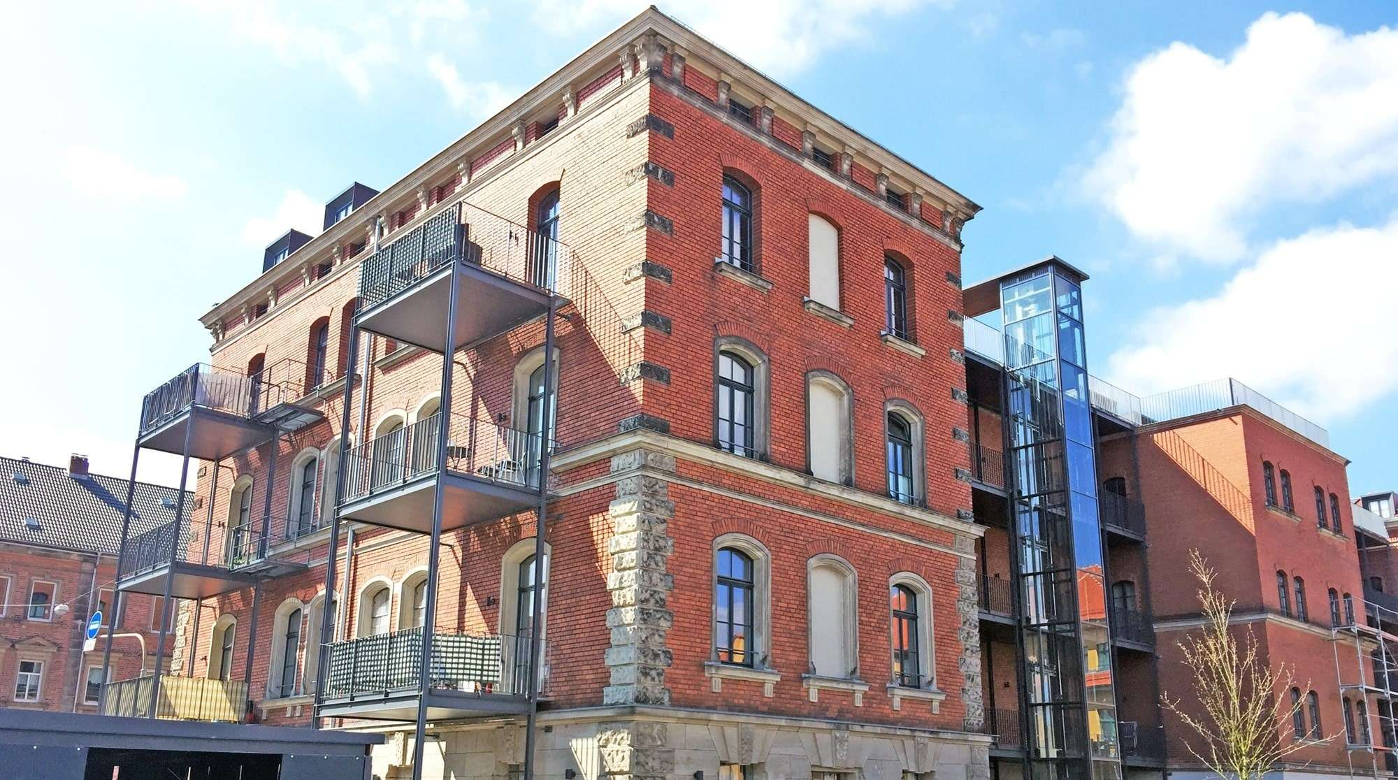 Voll möbliertes Apartment in  Erlangen - verschiedene Größen in Erlangen Süd (Erlangen)