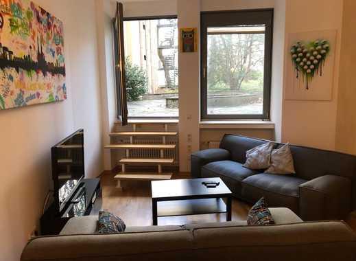 3-Zimmer-Wohnung in zentraler Lage mit Terrasse, möbliert, zur Untervermietung mit Übernahmeoption