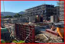 Im Bau befindliche Wohnungen in