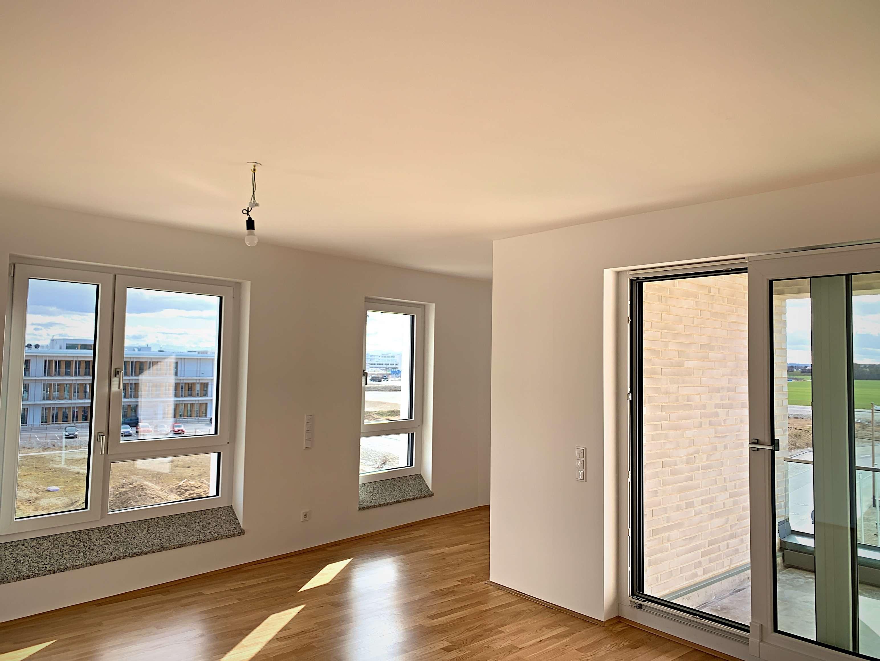 Erstbezug mit Balkon: stilvolle 3-Zimmer-Wohnung in München Aubing Freiham in Aubing (München)
