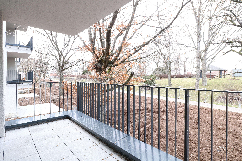 2 Zi, 58 qm, Balkon zum Erstbezug - Wohnberechtigungsschein erforderlich !!
