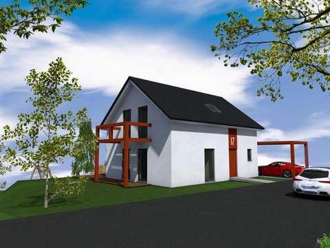 Einfamilienhaus - Massivhaus - moderne Architektur - tolle ...