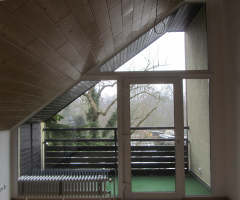 Ihre Oase der Ruhe im Grünen wohnen am Lech 2 Zimmer Dachgeschosswohnung mit traumhaftem Ausblick in Firnhaberau (Augsburg)