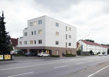 Erstbezug: Moderne 2 Zimmer-Wohnung mit Dachterrasse und Stellplatz in Neu-Ulm (Neu-Ulm)