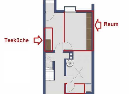 Kleiner Raum für Büro, Praxis, Lager, Hobbywerkstatt, mit WC und Dusche im Keller in Mü./Obergiesing