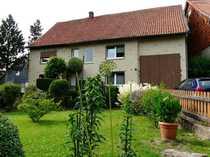 RESERVIERT Gepflegtes Zweifamilienhaus mit Scheune