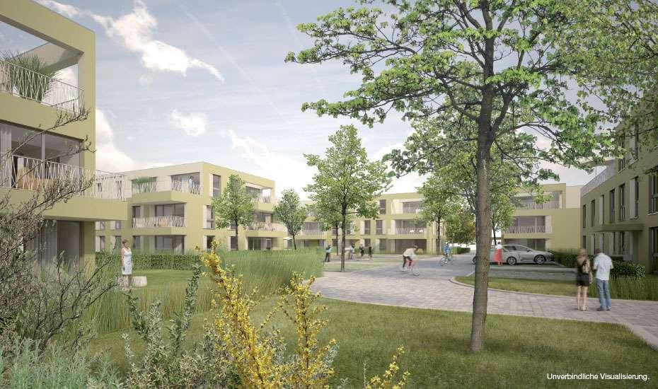 Einzigartige 4-Zi-Wohnung mit eigener grüner Garten-Oase (Erstbezug) in