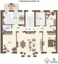 Lichtdurchflutete hochwertige 4-Zimmer-Wohnung in modernisiertem