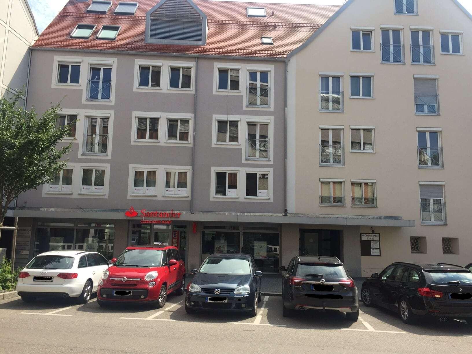 Helle 4-Zimmer-Wohnung mit Lift neben dem Rathausplatz in Kempten (Allgäu) in