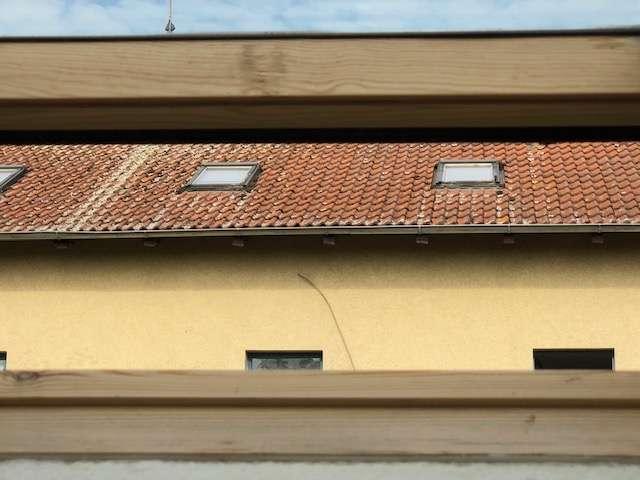 Dacheindeckung Vorderhaus