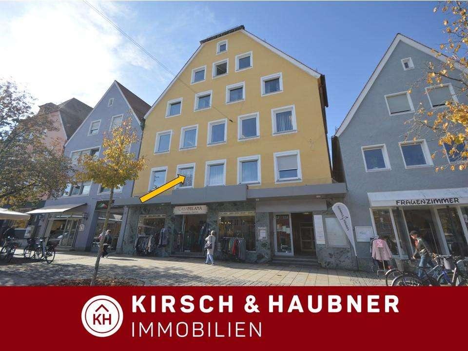 Wohnen im Stadtzentrum! Schöne 2-Zimmer-Wohnung,   Neumarkt - Untere Marktstraße in Neumarkt in der Oberpfalz (Neumarkt in der Oberpfalz)