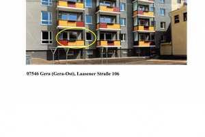 2 Zimmer Wohnung in Gera