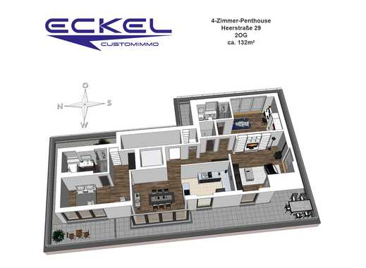 penthouse bayern luxus penthouse wohnungen mieten oder. Black Bedroom Furniture Sets. Home Design Ideas