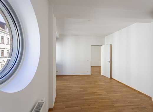 ab sofort & 1 Monat mietfrei: großer Wohnraum   EBK neu   Wanne & Dusche   HWR   Parkett   Balkon