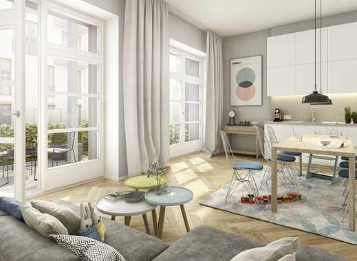 ***In exzellenter Lage Berlins*** Traumhafte 2-Zimmer-Wohnung mit schöner Raumaufteilung & Garten