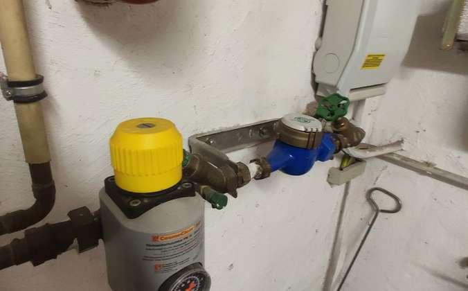 Hausanschluss Wasser