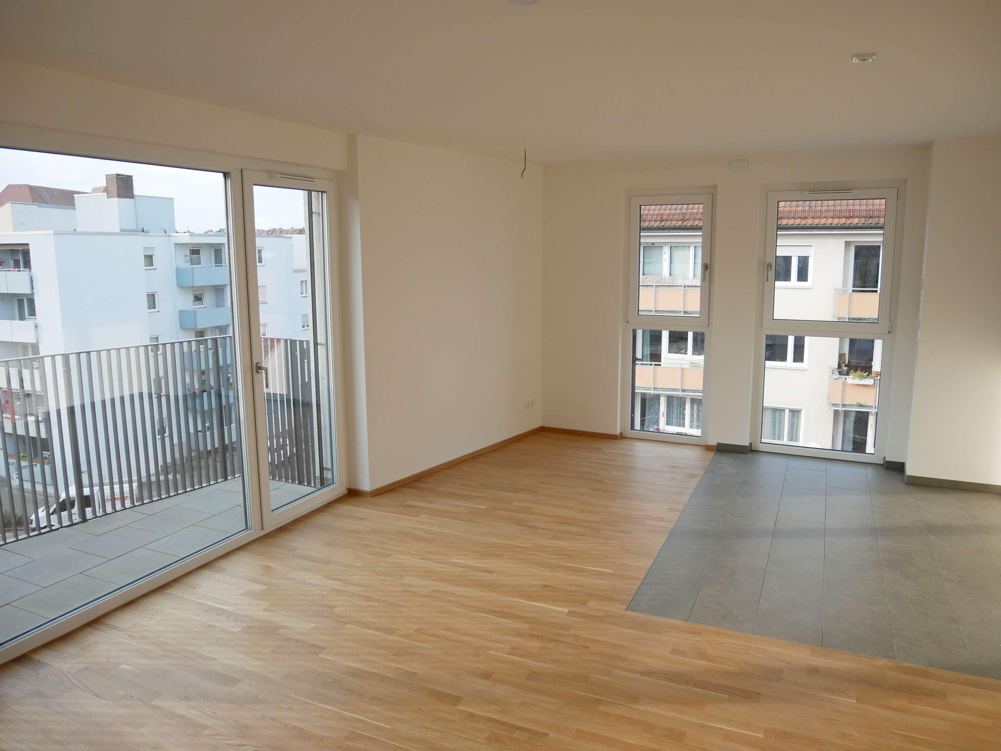 Erstbezug! Exklusive & helle 3-Zimmer-Wohnung am Stadtpark (4.OG, Lift, Parkett, Balkon, TG, …) in Pirckheimerstraße (Nürnberg)
