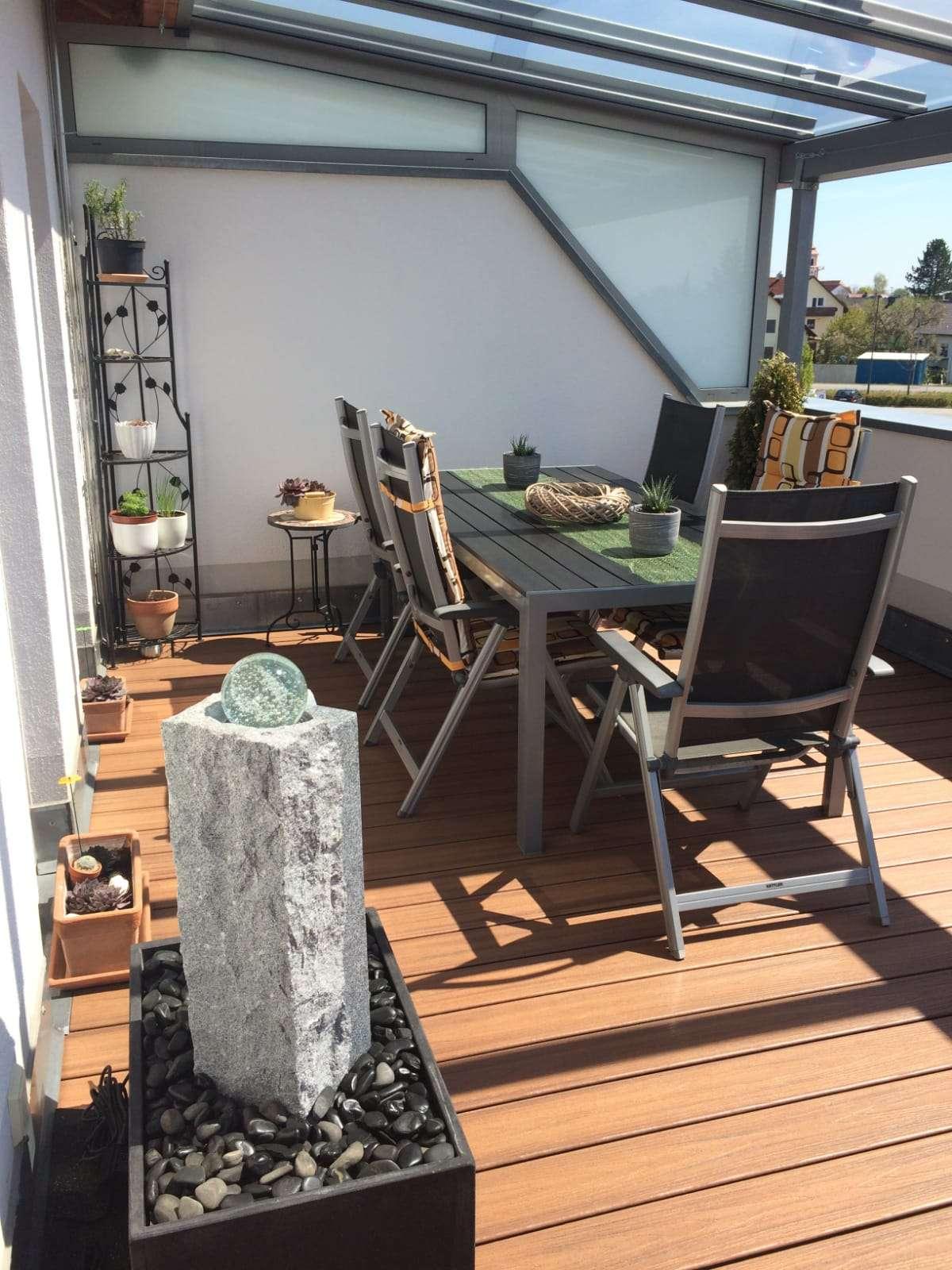 Wohnen über den Dächern von Etting in gepflegter 3,5-Zimmer-Maisonette-Wohnung in Etting