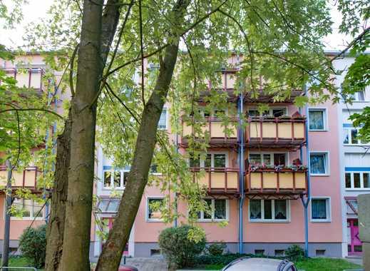 3-Zimmerwohnung mit Balkon und Blick ins Grüne